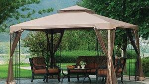 Big Lots 10 X 12 Arrow Gazebo Replacement Canopy Garden Winds