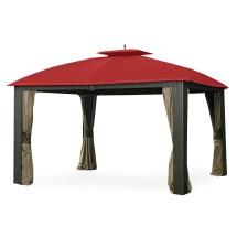Replacement Canopy Riviera Wicker Gazebo - Riplock 350