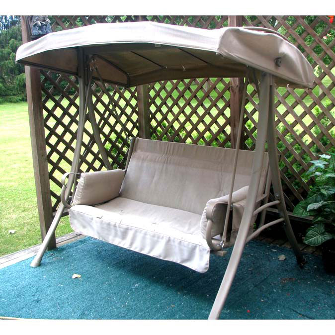 charm 2 person swing replacement canopy