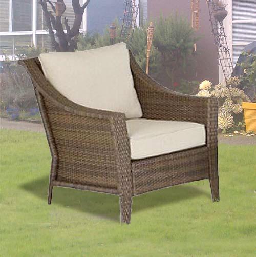 Rolston Wicker Club Chair 2 Pack Garden Winds