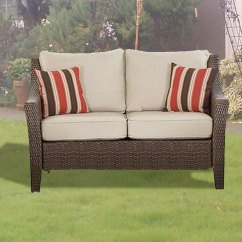 Big Lots Outdoor Chair Cushions Oversized Comfy Rolston Wicker Club - 2 Pack Garden Winds