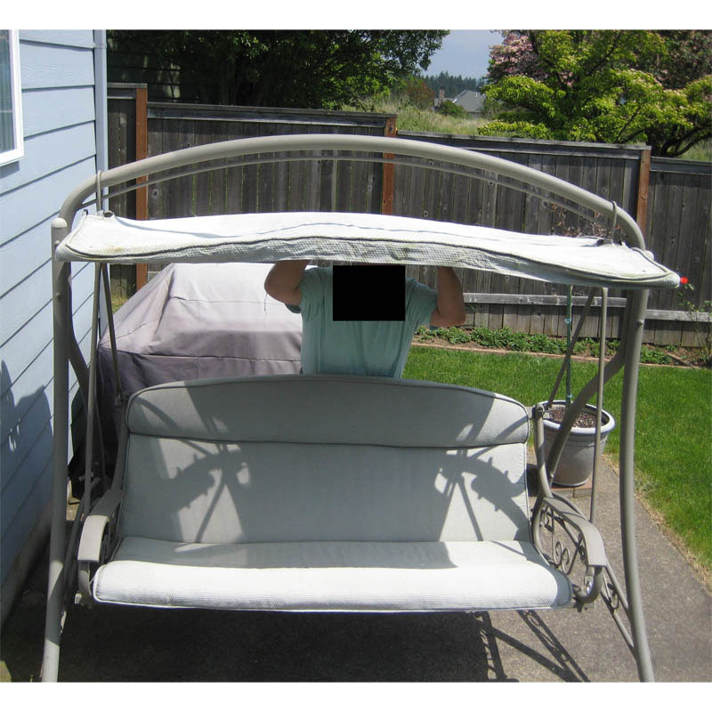 Replacement Canopy for Swing 792657 Garden Winds