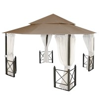 12' x 12' Harbor Gazebo, model number X1250B Garden Winds