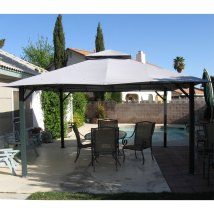 14 X Square Gazebo Replacement Canopy S05376 Garden Winds