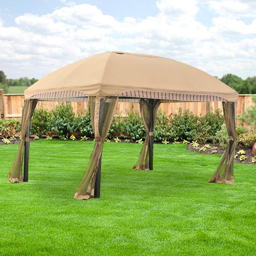 Menards Domed Gazebo Replacement Canopy  RipLock 350