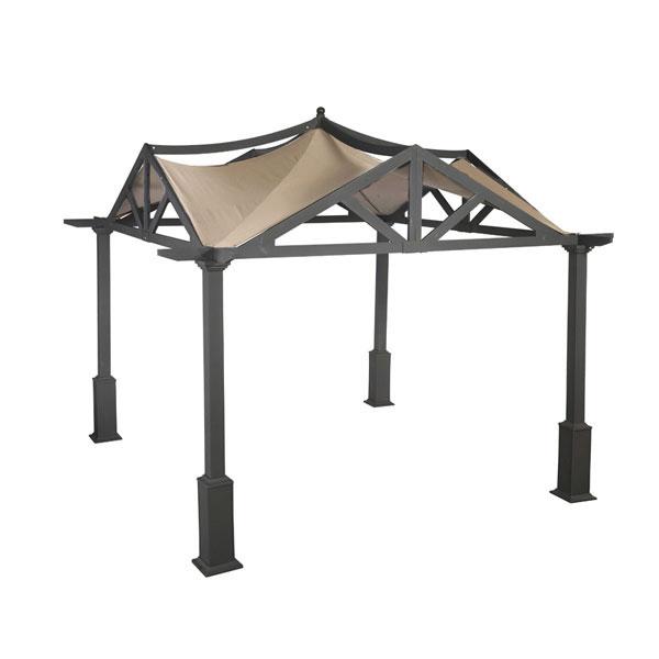 Lowes Garden Treasures 10 X 10 Pergola Replacement Canopy
