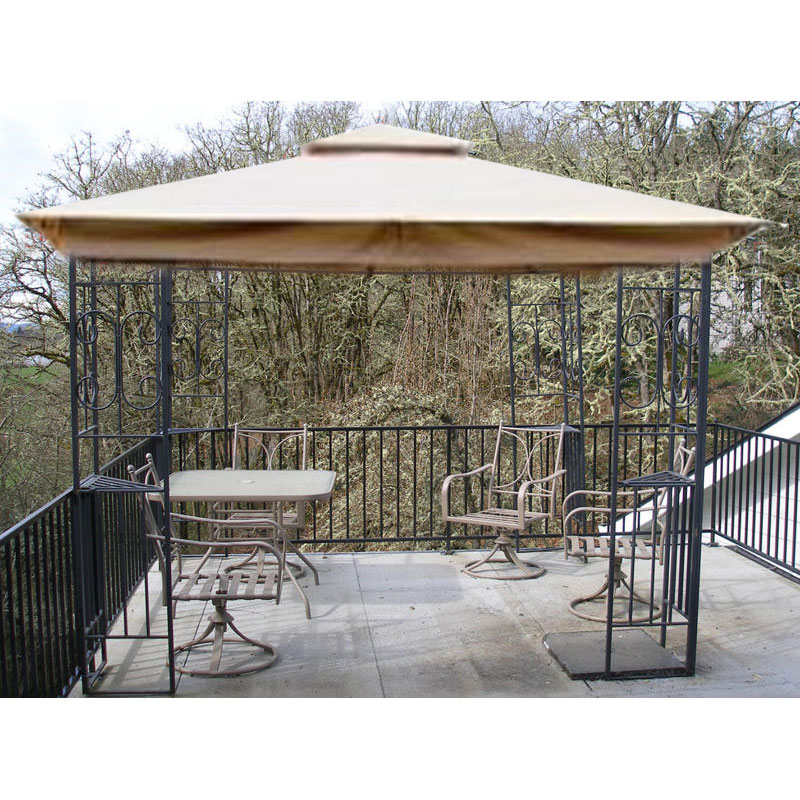 Fred Meyer 10 x 10 Scroll Design Replacement Canopy Garden