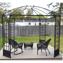 Terrace Gazebo Replacement Canopy Garden Winds