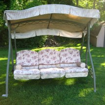 Home Trends Swing Replacement Canopy Garden Winds