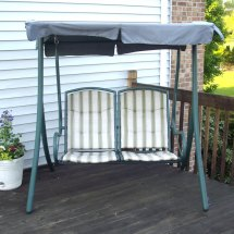 2 Seater Rus4860 Replacement Swing Canopy Garden Winds