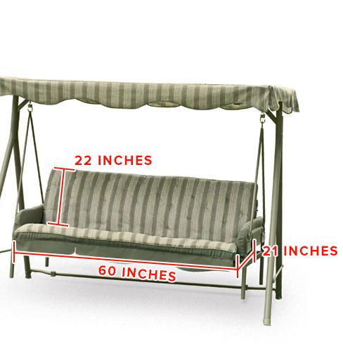 Walmart Seacliff 3 Seater Hammock Swing Replacement Canopy