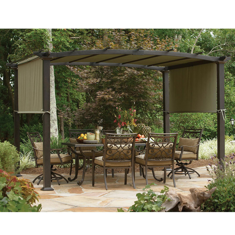 Sears Garden Oasis Curved Pergola Replacement Canopy GF 11S168B Garden Winds