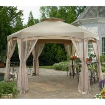 Sears Garden Oasis Clayton Gazebo Replacement Canopy And