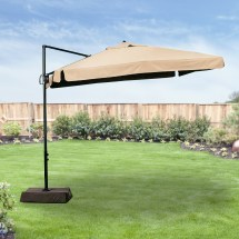 Replacement Canopy Square Offset Umbrella Garden Winds