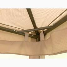 Replacement Canopy Abba Patio 10x13 Gazebo Garden Winds