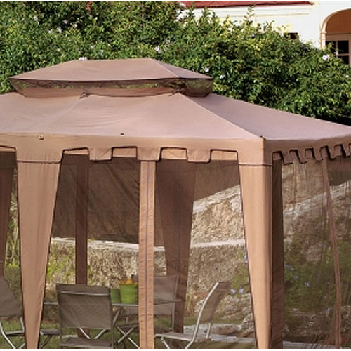 Replacement Canopy for Living Accents 10 x 12 Garden Winds