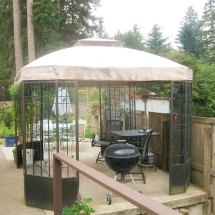 Replacement Canopy Bay Window 10 X 12 - Riplock 350
