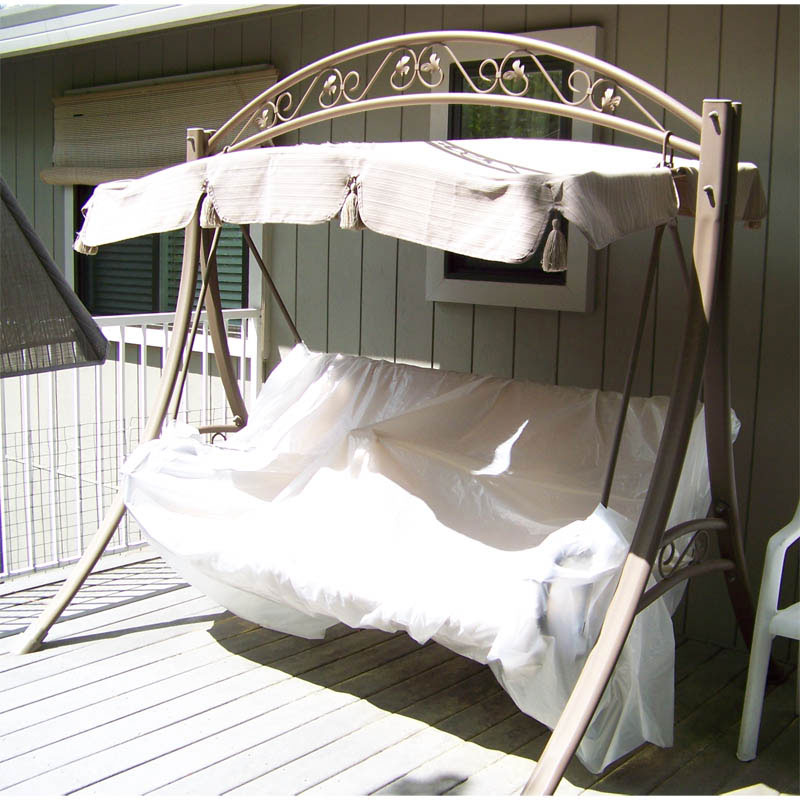 Costco Arched Frame Swing Replacement Canopy Garden Winds