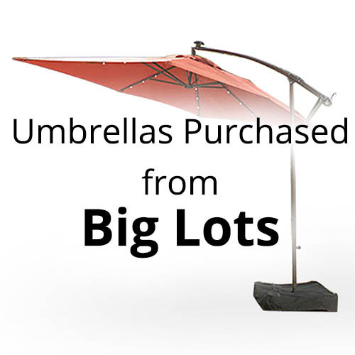 Umbrella Replacement Canopy  Garden Winds