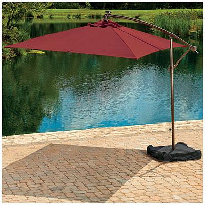 Garden Winds Big Lots Replacement Umbrella Canopy  Garden