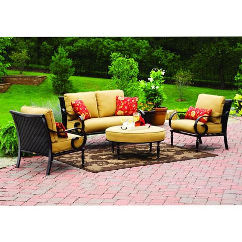 Urban Haven Conversation Set Replacement Cushions Garden Winds