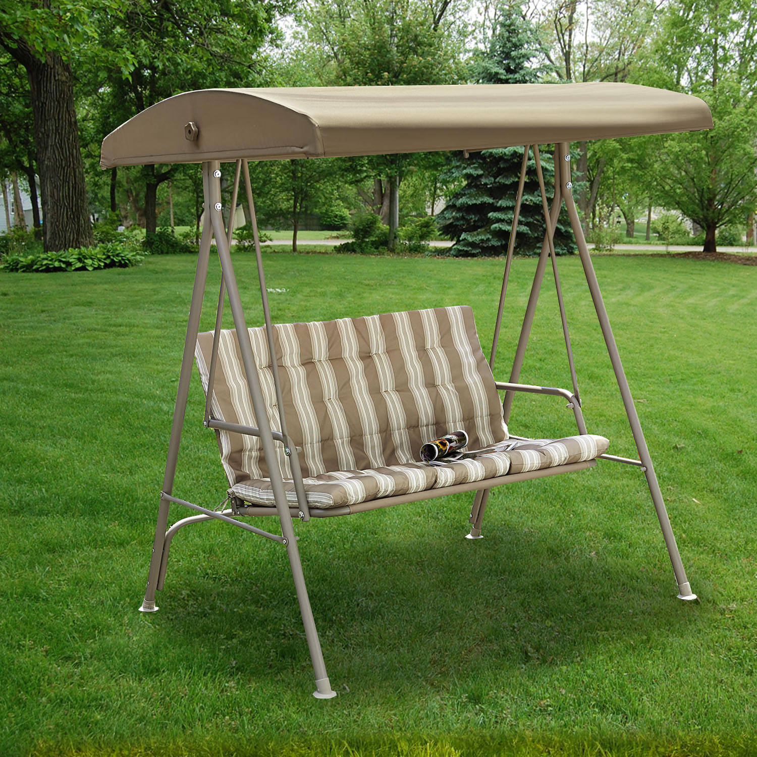 swing chair replacement patio repair fabric canopy for eg two seat garden winds