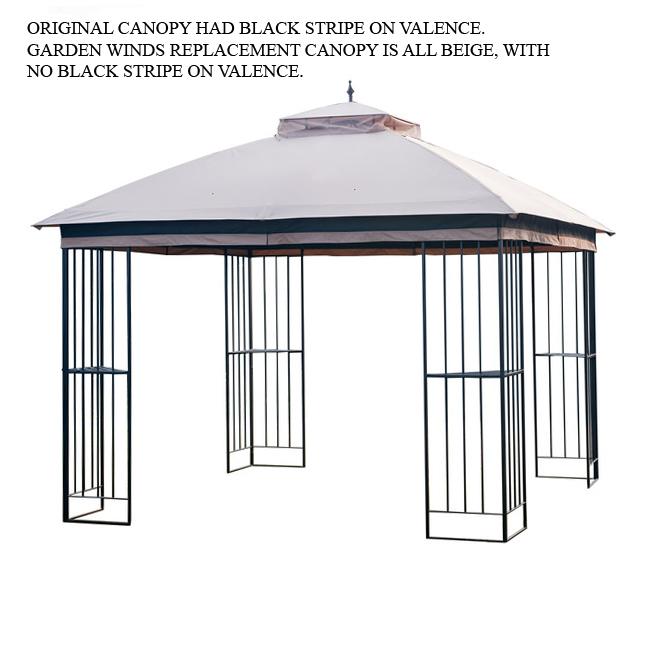 Replacement Canopy For Gt Steel Finial Gazebo 350 Garden