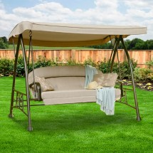 Replacement Canopy Garden Oasis Deluxe Swing Winds