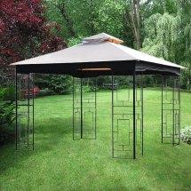 Replacement Canopy Gt Geo Gazebo - Riplock 350 Garden Winds