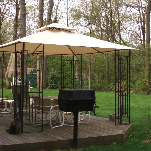 Bond Manufacturing Leaf Gazebo Garden Winds