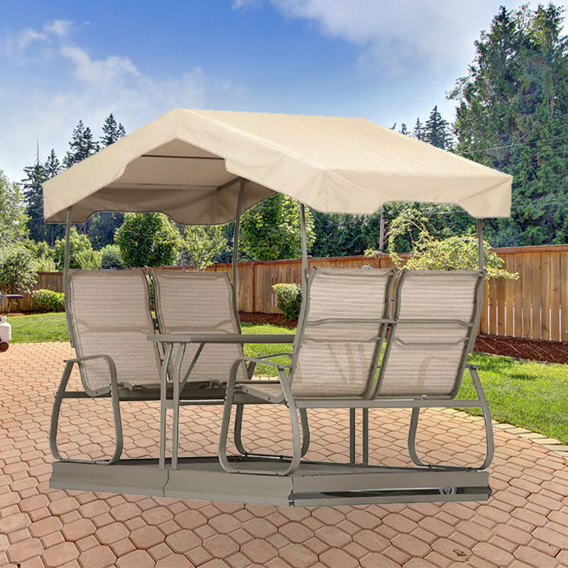 Replacement Canopy For Grandview 4 Person Swing Garden Winds
