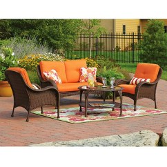Wicker Patio Chair Cushions Haworth Lively Review Replacement For Sets Sold At Walmart Garden Winds Lake Island Conversation Set Beige