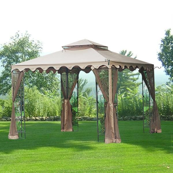 Replacement Canopy 10x10 Leaf Gazebo - Riplock 350 Garden Winds