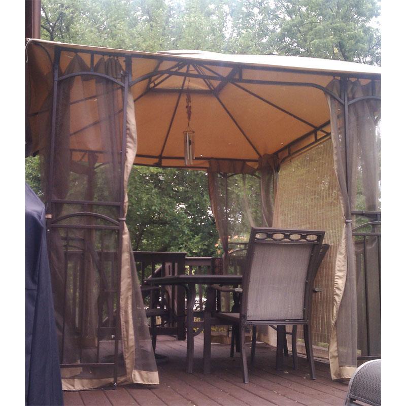 Menards 11 x 9 Gazebo Replacement Canopy Garden Winds