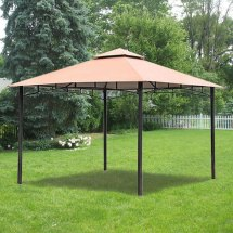Replacement Canopy Bc Metal Gazebo Garden Winds