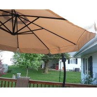 Menards 2010 Offset Umbrella Replacement Canopy 272