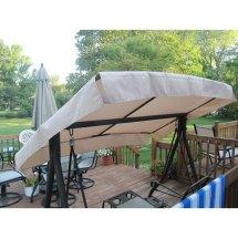 Menards Sienna Swing Replacement Canopy Garden Winds