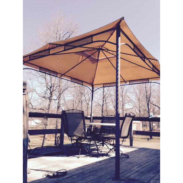 Replacement Canopy for Wind Resistant Gazebo Garden Winds