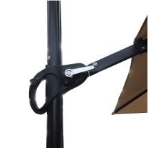 Replacement Canopy Osh Rectangular Solar Umbrella