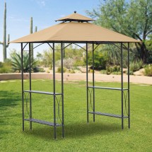 Replacement Canopy Grill Gazebos - Garden Winds