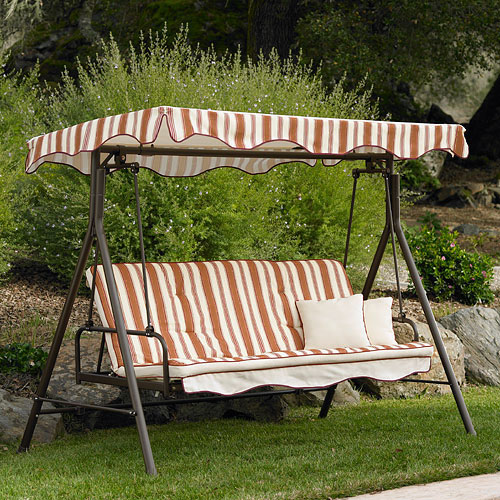 Home Trends Park Lake 3Seater Futon Swing 001661485