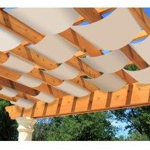 Diy Decorative Pergola Shade Canopy Garden Winds