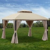 Replacement Canopy Privacy Gazebo - Riplock 350 Garden