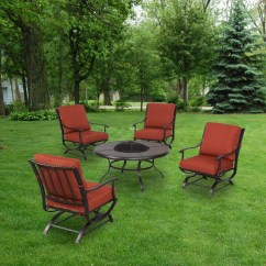 C Spring Patio Chairs Dining Chair Seat Pads Replacement Cushions For Sets Sold At The Home Depot