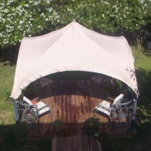 Sams Club Jra Arch Gazebo Replacement Canopy S74531 Garden