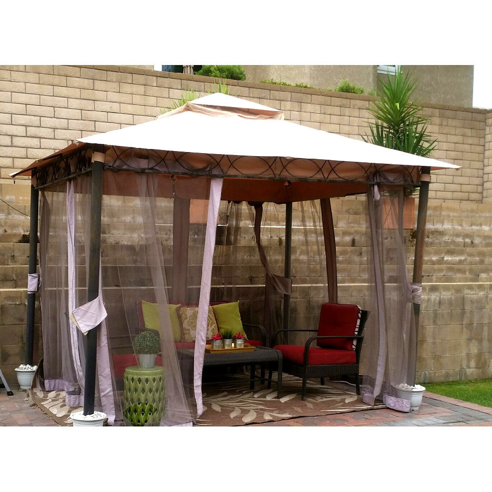 Replacement Canopy and Net for Celeste Gazebo  Riplock