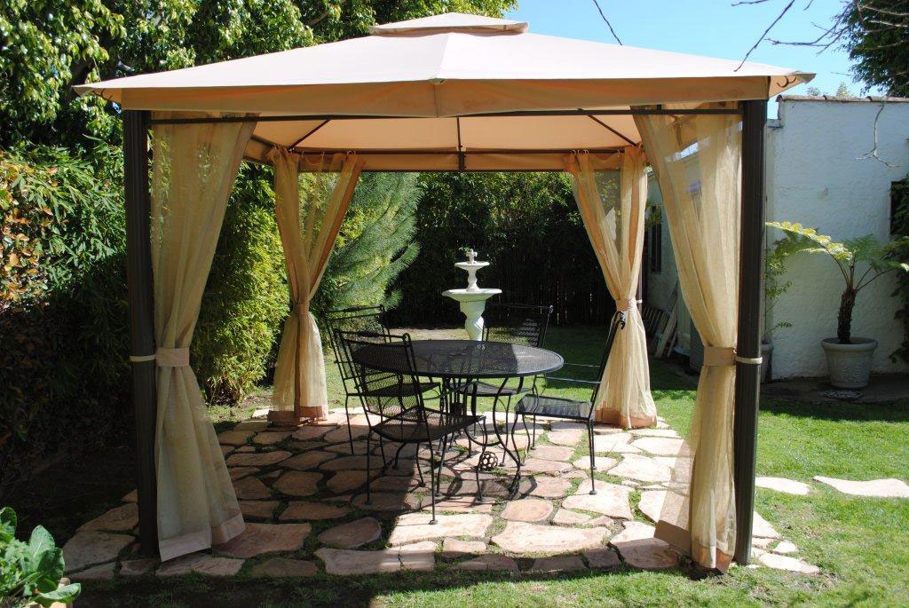 Home Depot Southern Patio GAZ434769 Replacement Canopy Garden Winds