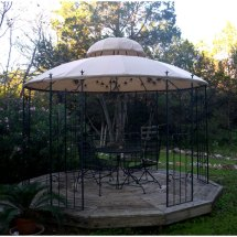 Target Garden Style Gazebo Replacement Canopy