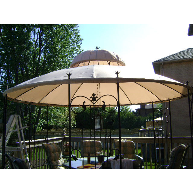 Target Garden Style Round Gazebo Replacement Canopy G