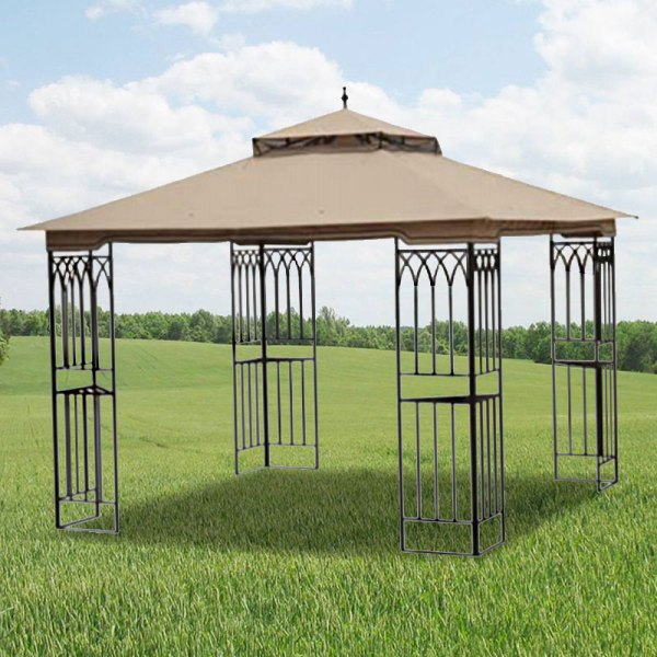 Replacement Canopy Steel Frame 10x10 - Riplock 350 Garden Winds